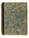 Free Very Old Decorative Book Cover Royalty Free Stock Photography - 8038187