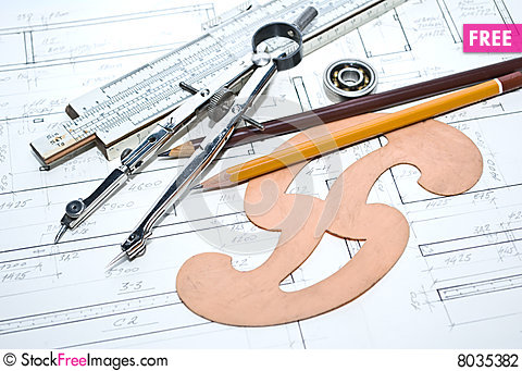 Architecture plan and tools free stock photos images for Architecture design tools free