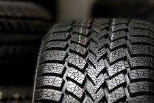 Free Tire Tread Close Up Stock Photo - 8030030