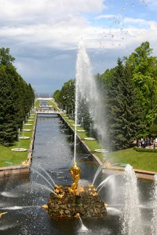 Fountains 1 Royalty Free Stock Photography