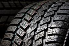 Free Tire Tread Close Up Royalty Free Stock Photo - 8030245