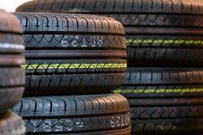 Free Tire Tread Close Up Stock Photo - 8030260