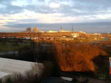 View At The Prague´s Suburbs