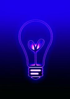 Free Lamp Bulb Royalty Free Stock Photos - 8030708