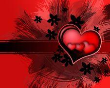 Free Valentin`s Day Card. Royalty Free Stock Photos - 8030968
