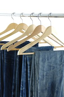 Free Jeans Royalty Free Stock Photography - 8031047