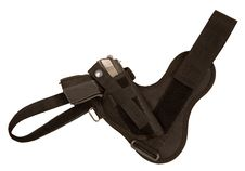 Gun In A Holster Royalty Free Stock Images