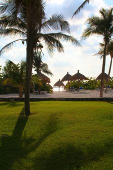 Free Tropical Resort Royalty Free Stock Images - 8031229