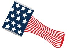 Free American Flag Stock Photography - 8031342