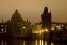 Free Prague - Charles Bridge Stock Photo - 8033120