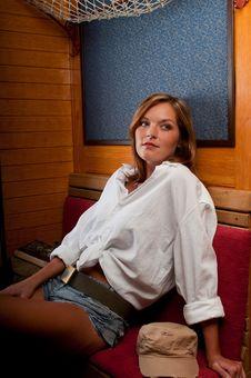 Free Beautiful Woman Travelling Stock Image - 8033731
