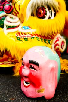 Free Chinese Joker. Stock Photography - 8033742