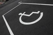 Free Disabled Parking Royalty Free Stock Photo - 8033965