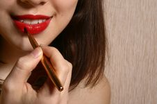 Free Make-up. Stock Photography - 8034162