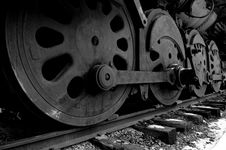 Free Iron Wheels Stock Image - 8034391