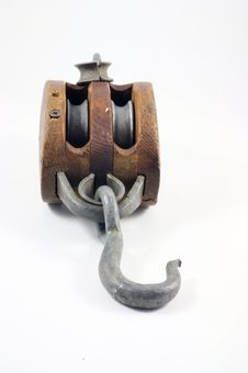 Block And Tackle Royalty Free Stock Photography