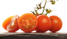 Free Cherry Tomatoes Stock Image - 8035681