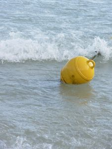 Free Surface Marker Buoy Stock Photo - 8036090