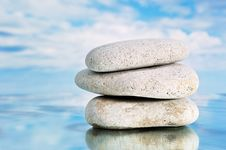 Free Three Stones Stock Photography - 8036112