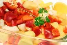 Free Chopped Vegetables. Stock Images - 8036144