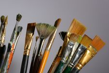 Free Paint Brushes Stock Images - 8036174
