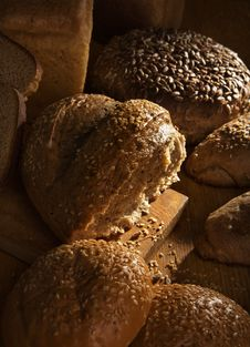 Free Still-life With Bread Stock Photo - 8036180