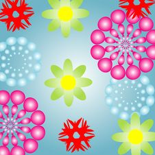 Free Abstract Flowers Stock Image - 8036311