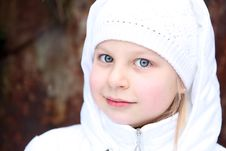 Free Girl On Winter Vacation Stock Photography - 8036382
