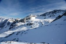 Free Alps Winter View Stock Photography - 8036452