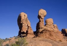 Free Arches National Park Stock Photography - 8036462