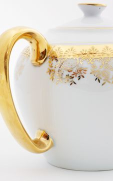 Free Ornate Teapot Handle Stock Images - 8036624
