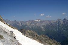 Free Caucasus Mountains Stock Image - 8036811