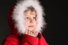 Free Girl On Winter Vacation Royalty Free Stock Photos - 8036978