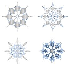 Free Snowflakes Royalty Free Stock Photography - 8037217