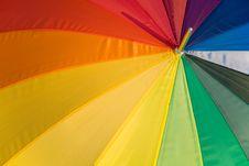 Free Rainbow Umbrella Royalty Free Stock Image - 8037416