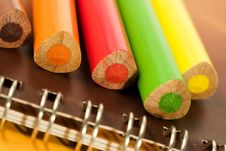 Free Coloured Pencils Stock Image - 8037981