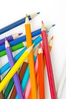 Free Pencils Royalty Free Stock Images - 8038559