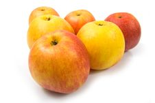 Free Six Apples Stock Photography - 8038592