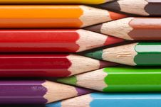 Free Colored Pencils Royalty Free Stock Photography - 8038877