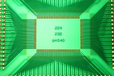 Free Green PCB Stock Photography - 8039042