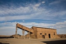 Abandoned City - Santa Laura And Humberstone Royalty Free Stock Image