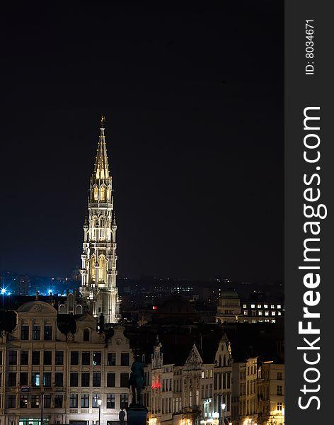 Bruxelles at Night
