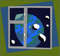 Free Window In Space Stock Photo - 8042540