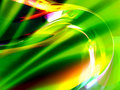 Free Shiny Green Abstract Background Royalty Free Stock Image - 8043966