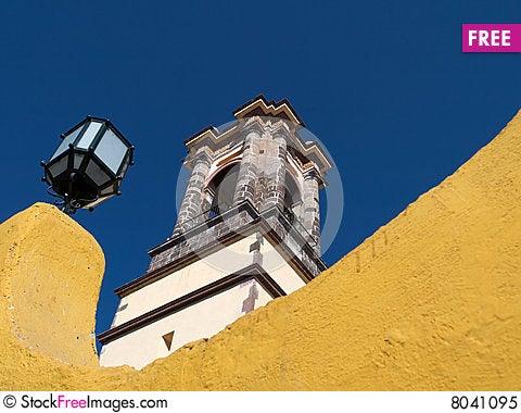 Templo de la Inmaculada Concepcion Stock Photo