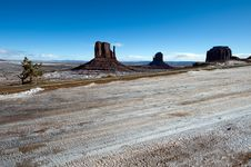Free Monument Valley Royalty Free Stock Photo - 8040125
