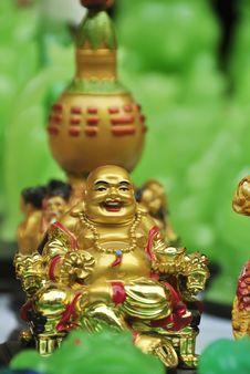 Free Golden Buddha Royalty Free Stock Images - 8040759