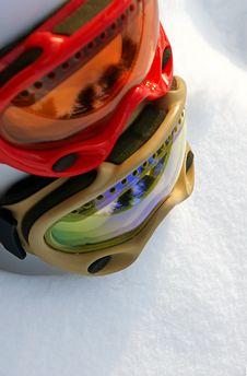 Free Snow Goggles Royalty Free Stock Photos - 8040898
