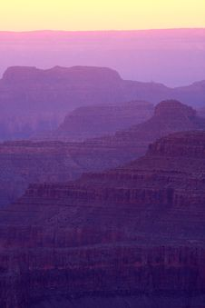 Grand Canyon Layers Royalty Free Stock Photo