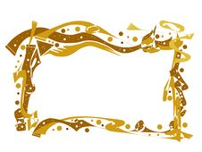 Free Frame Of Gold Stock Images - 8040964
